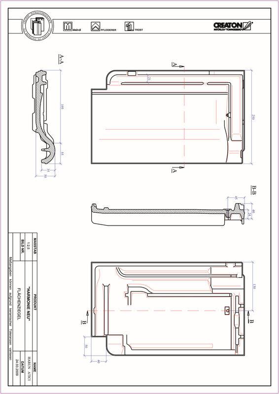 Product CAD file HARMONIE field FLA