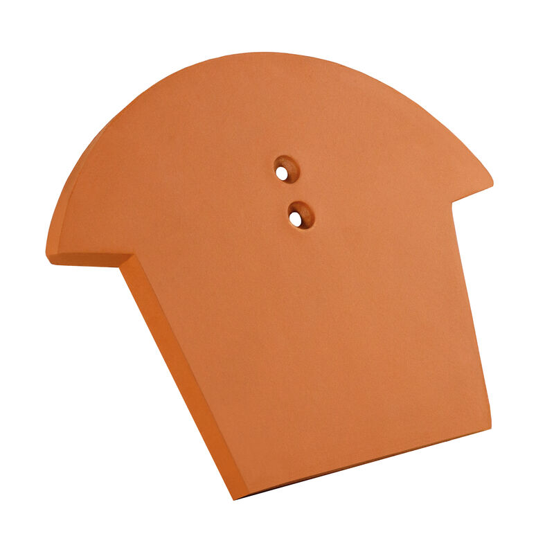 HÖN ridge starter and termination plate ceramic PV