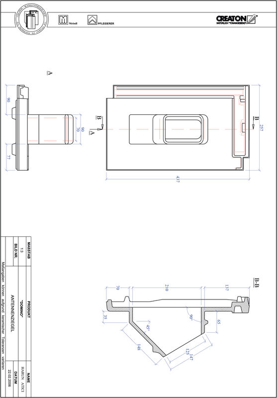 Product CAD file DOMINO antenne set ANTENNE