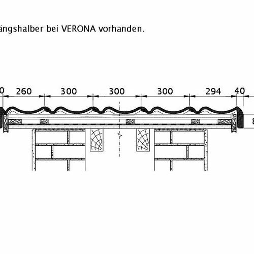 Technische tekening  VERONA ORL PROFILIERTE-BDS