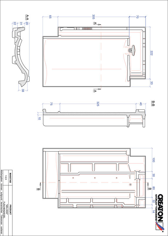 Product CAD file MELODIE pan FLA