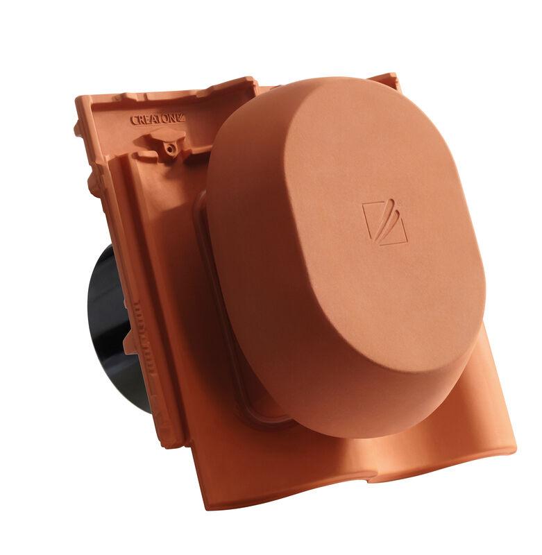 MEL SIGNUM keramische ventilatie opening DN 200 mm incl. Verbindingsstuk