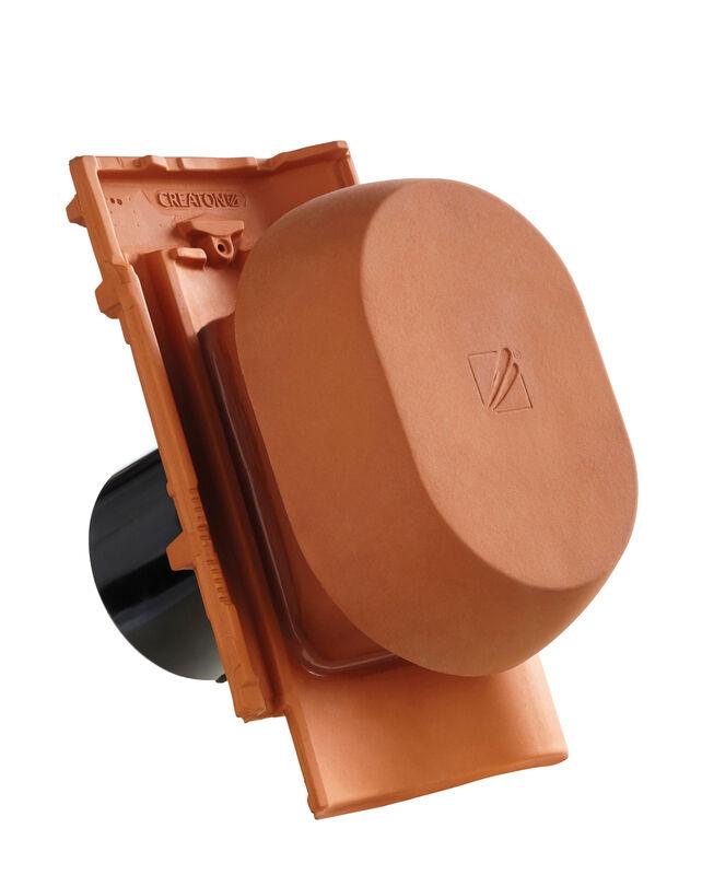 MEL SIGNUM keramische ventilatie opening DN 150/160 mm incl. Verbindingsstuk