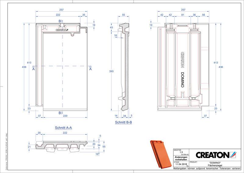 Product CAD file DOMINO  FLA
