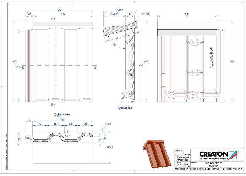 Product CAD file HEIDELBERG  chaperonpan beton PULTSTEIN
