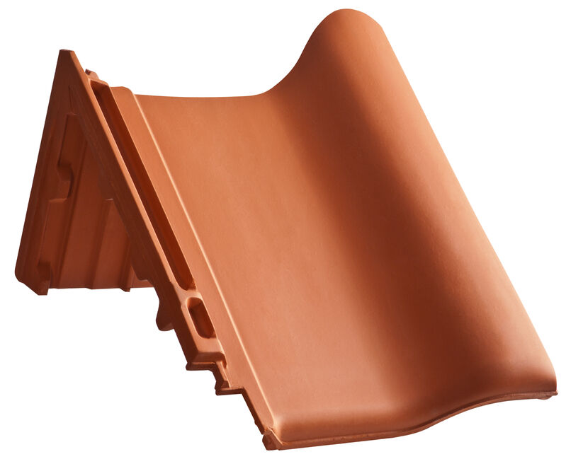 MAG shed roof verge tile decorated special size right