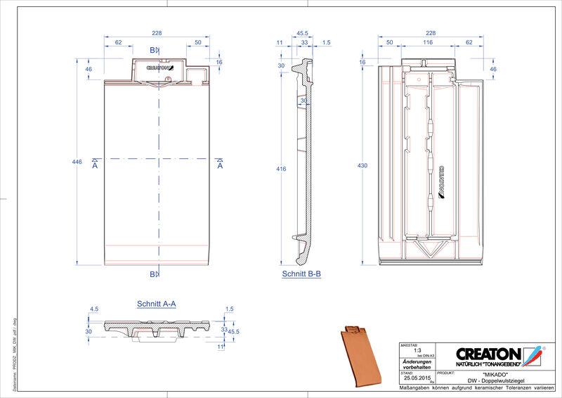 Product CAD file MIKADO dubbele welpan DWZ