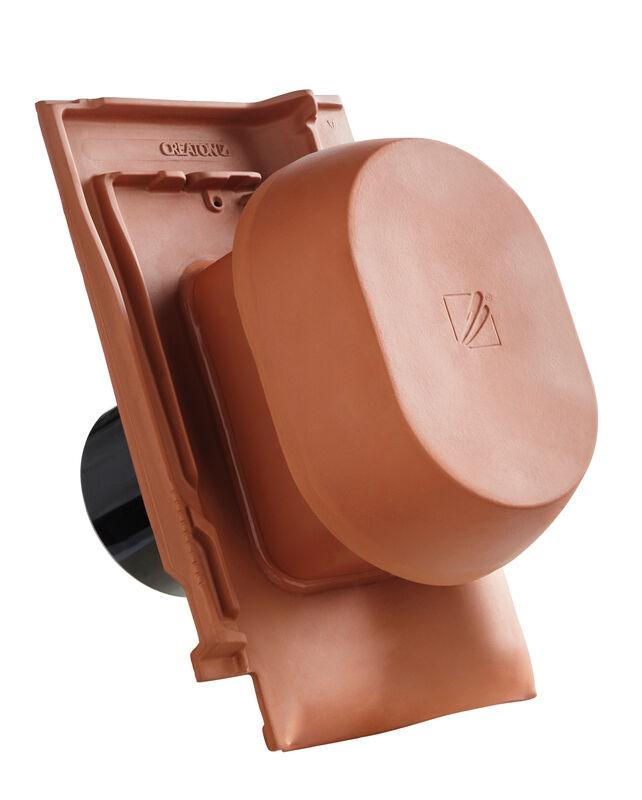 FUT SIGNUM keramische ventilatie opening DN 150/160 mm incl. Verbindingsstuk