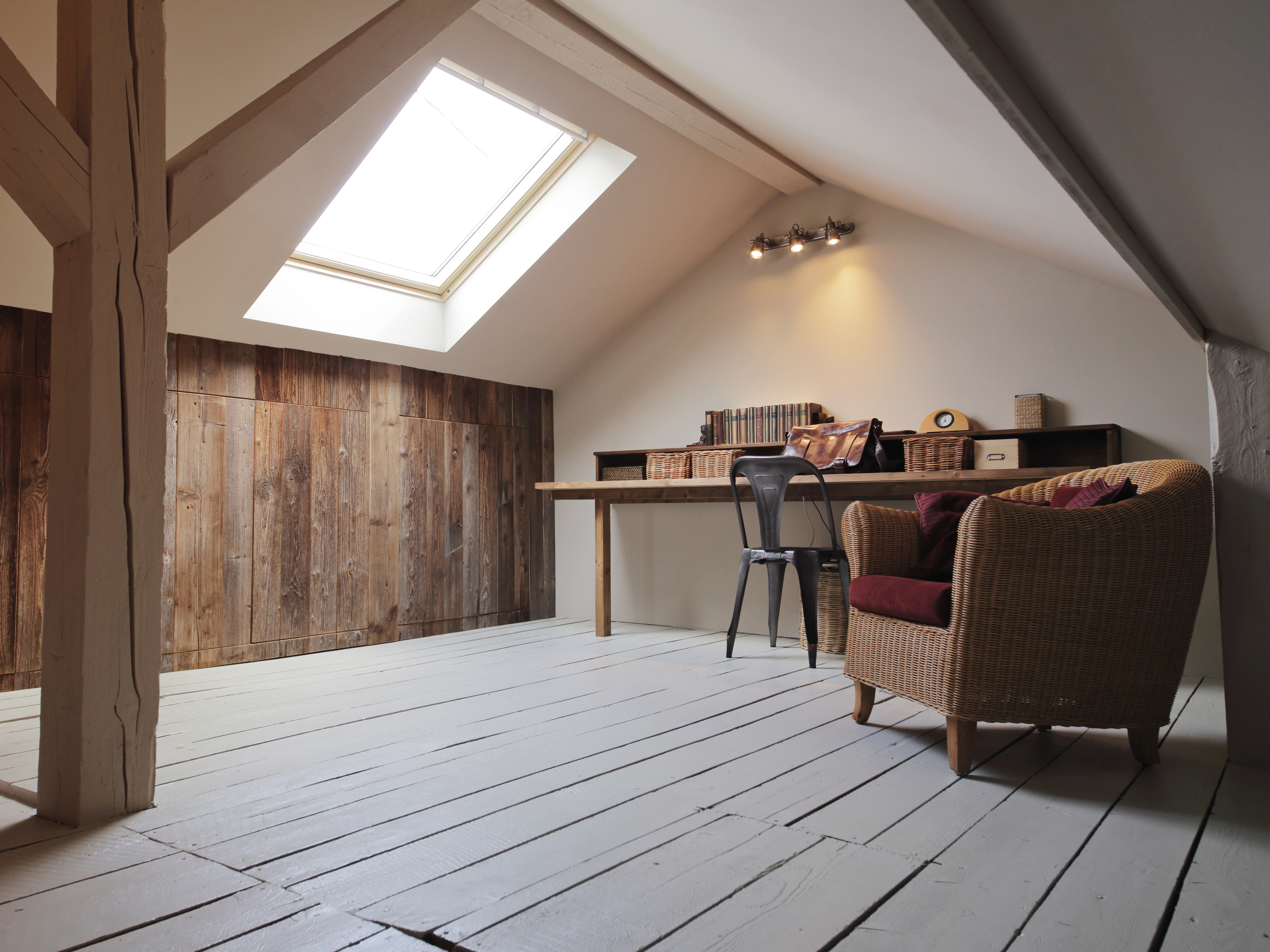 Living space in the attic