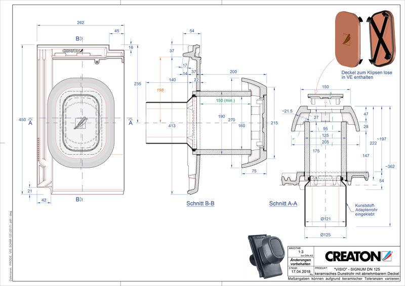 Product CAD file VISIO Signum SIGNUM-125