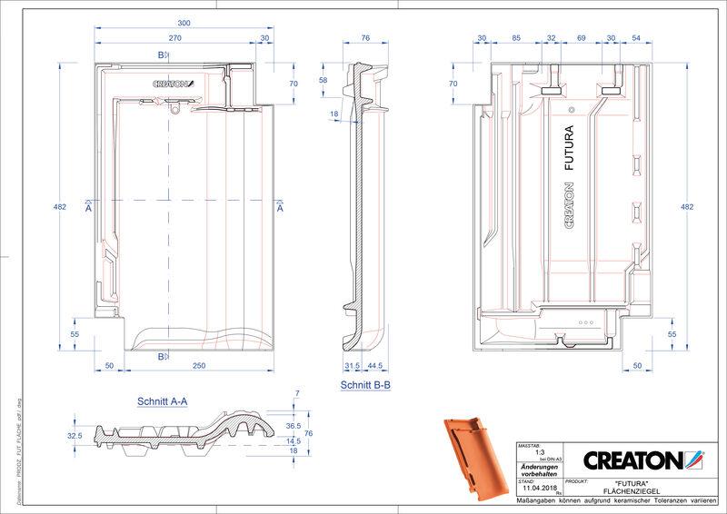 Product CAD file FUTURA pan FLA