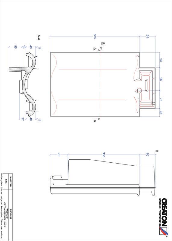 Product CAD file MELODIE gevelpan links OGL
