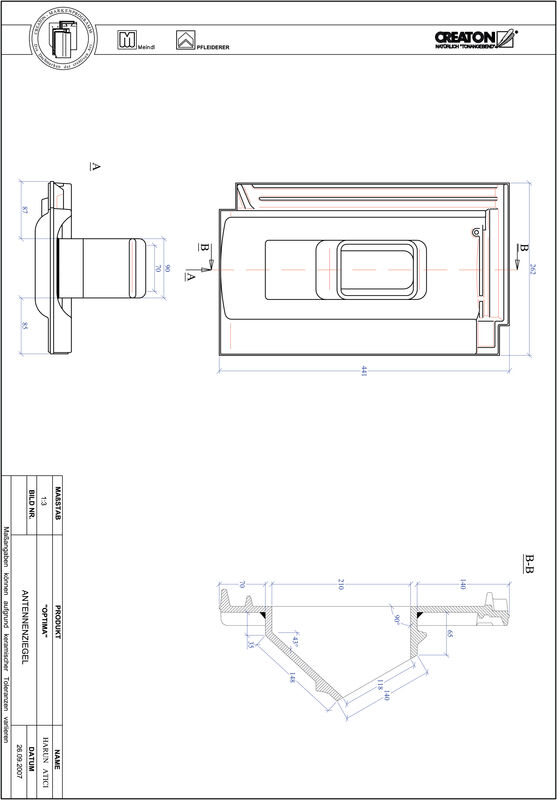 Product CAD file TERRA OPTIMA Aerial ANTENNE