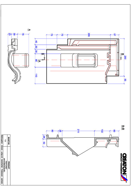Product CAD file SINFONIE Antenneset ANTENNE