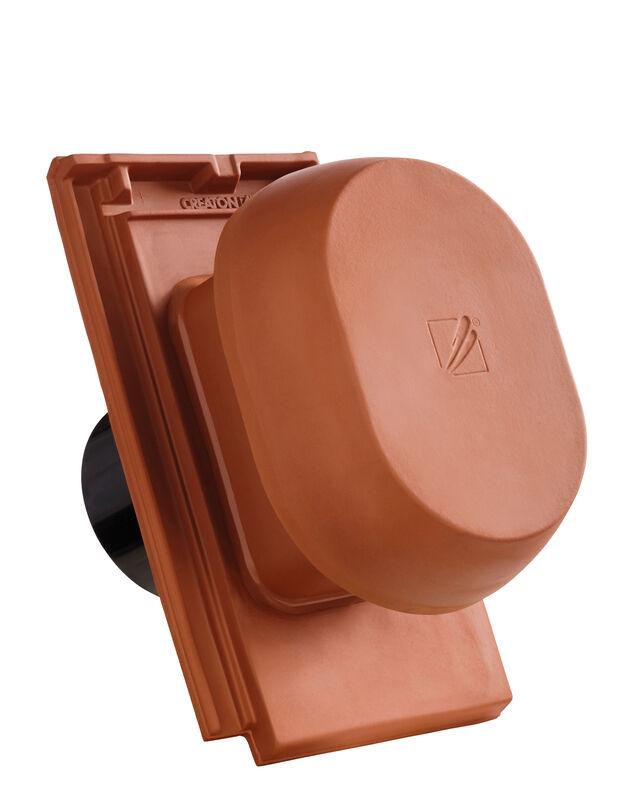 DOM SIGNUM keramische ventilatie opening DN 150/160 mm incl. Verbindingsstuk