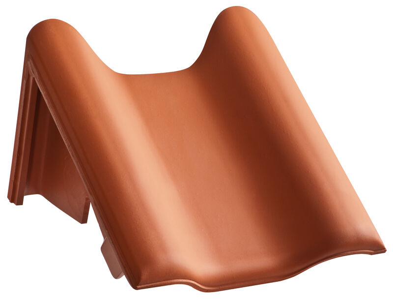 MAG shed roof verge tile decorated special size left
