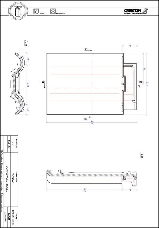 Product CAD file FUTURA dubbele welpan DWZ