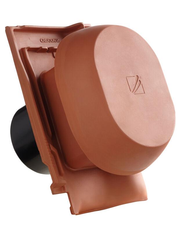 FUT SIGNUM keramische ventilatie opening DN 200 mm incl. Verbindingsstuk