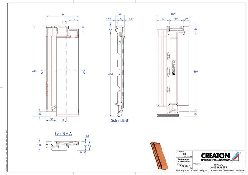 Product CAD file MIKADO halve pan LH