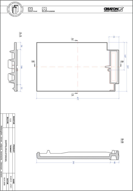 Product CAD file DOMINO dubbele welpan DWZ
