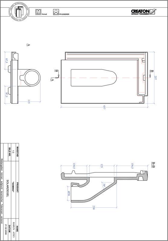 Product CAD file DOMINO Solar set SOLAR