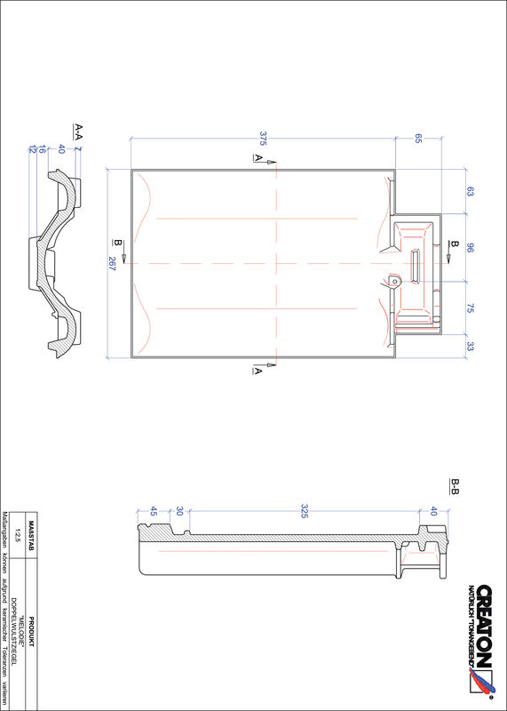 Product CAD file MELODIE dubbele welpan DWZ