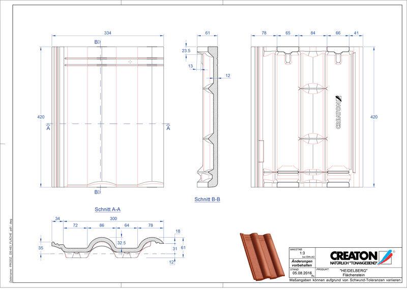 Product CAD file HEIDELBERG pan Faechenstein
