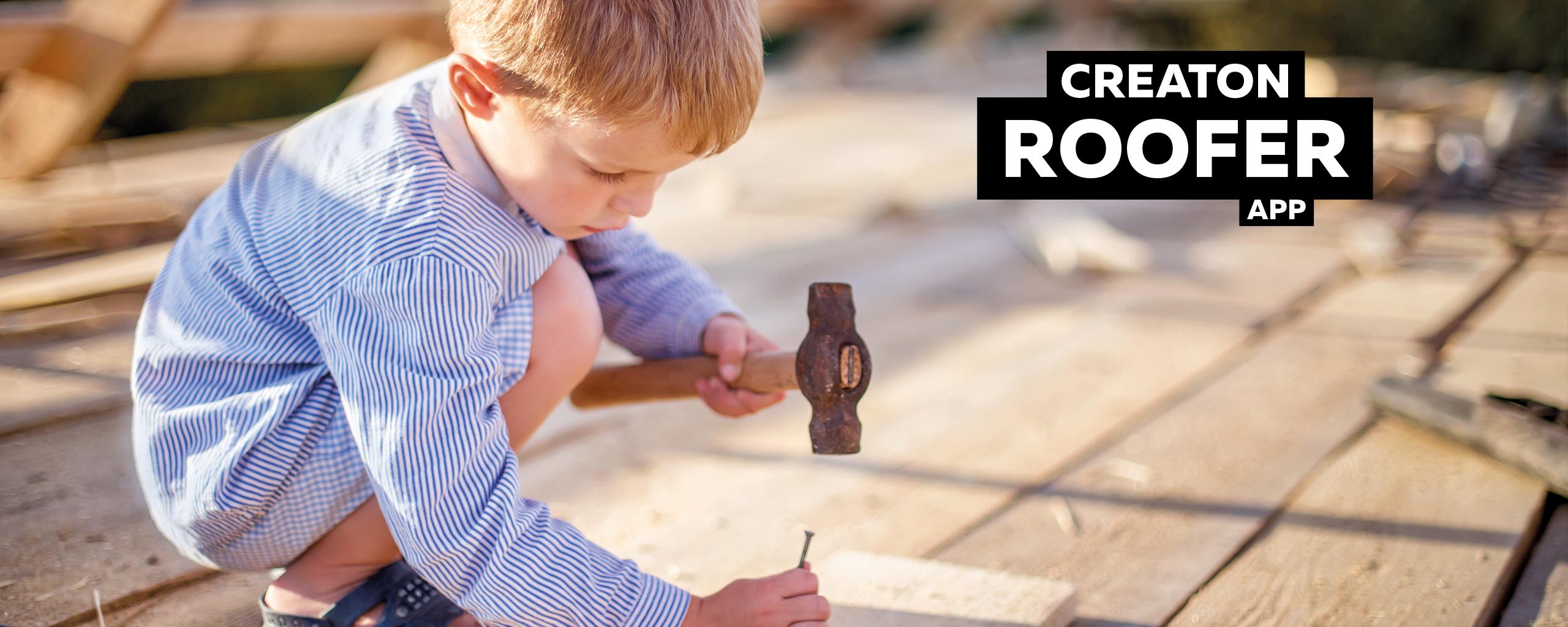 CREATON roofer app